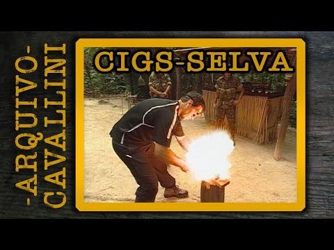 Treinamento no CIGS - Sobrevivência na Selva - ARQUIVO CELSO CAVALLINI