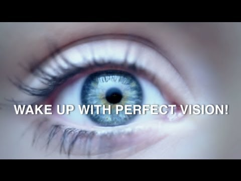 Overnight Contact Lenses - Wake Up With Perfect Vision in 2014