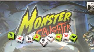 Unboxing of Monster Slaughter by Ankama Board Games