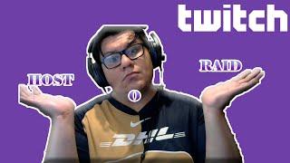 Host o Raid eฑ Twitch , sus diferencias ¿cual hacer? ¿que hacer cuando te hacen raid y host?
