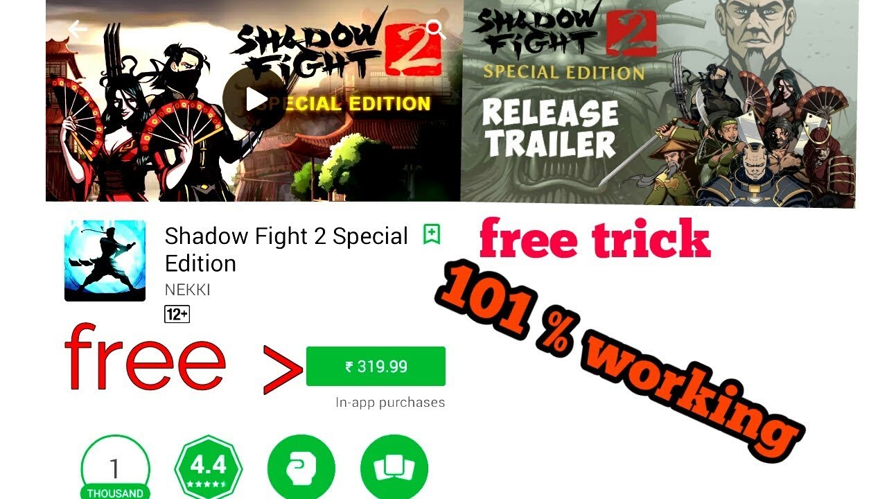 shadow fight 2 special edition free download hack unlimited everything