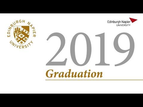 Edinburgh Napier University | Graduation 2019 | Thursday 31st October 11am