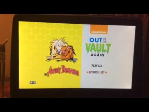 Nickelodeon Out of the Vault Again DVD Walkthrough