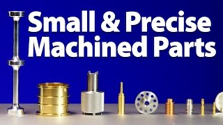 Small Precision Machined Parts - Swissomation