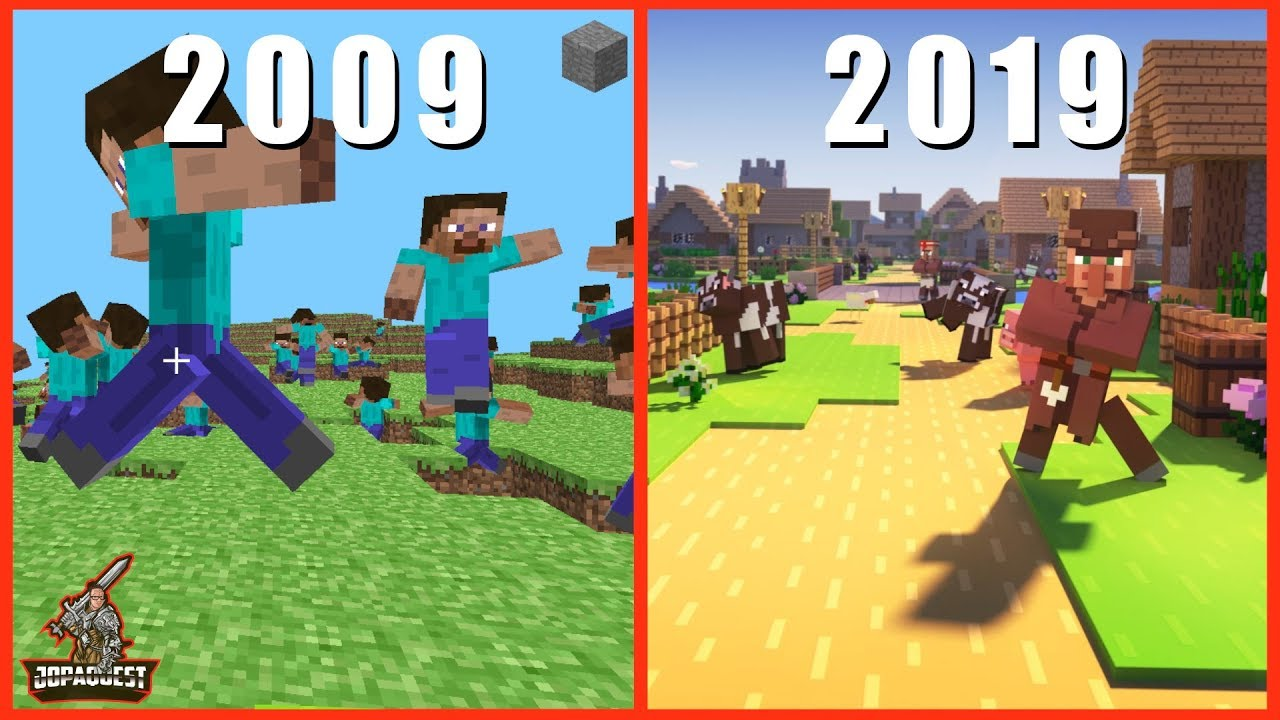 Download The 10 Year Journey of Minecraft 2009-2019