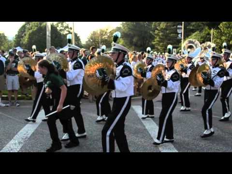 Spartan Marching Band to Stadium 2011
