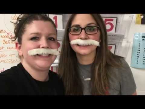 """Holmes Jr High supports """"Movember"""" 2015"""