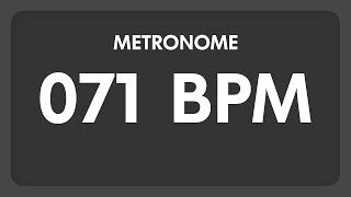 71 BPM - Metronome