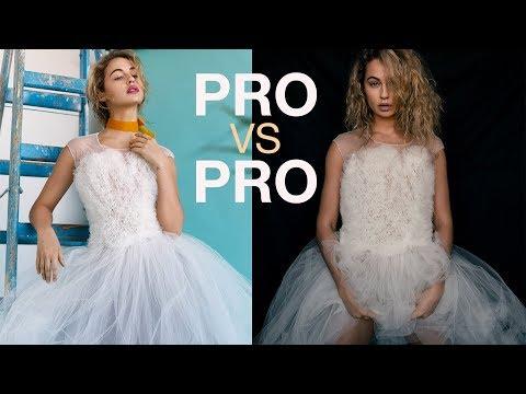 PRO VS PRO - SURPRISE FASHION PHOTOGRAPHY CHALLENGE