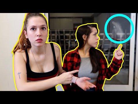 SALE UN FANTASMA EN MI VIDEO!!