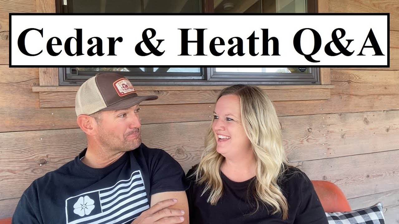 #433- We REFUSE To Answer Those TWO Questions But... (Q&A w/ Cedar & Heath)