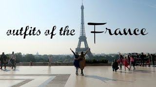 OUTFITS OF THE FRANCE | Co ubierałyśmy we Francji | Paris, La Gacilly | MarKa