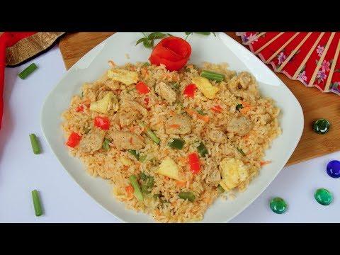 চাইনিজ চিকেন ভেজিটেবল ফ্রাইড রাইস ( টিপস সহ) | Chinese Chicken Fried Rice Bangla | Fried Rice