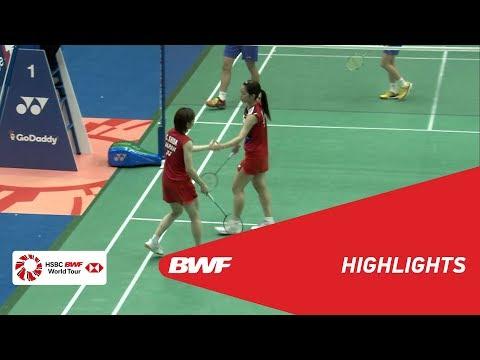 YONEX US Open 2019 | Semifinals WD Highlights | BWF 2019
