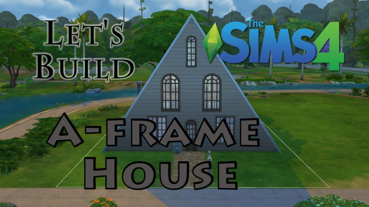 sims 4 speed build a frame house cabin youtube