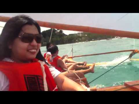 Sailboat ride sa Boracay May2011 1/5