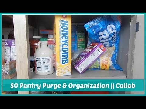 $0 Pantry Purge and Organization!!  || Collab w/The Life of a Homemaker