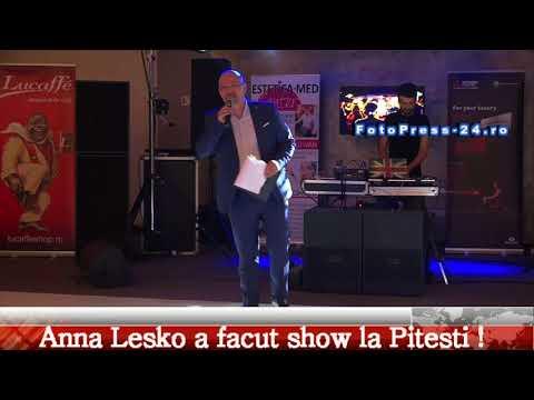 Anna Lesko a facut show la Pitesti !