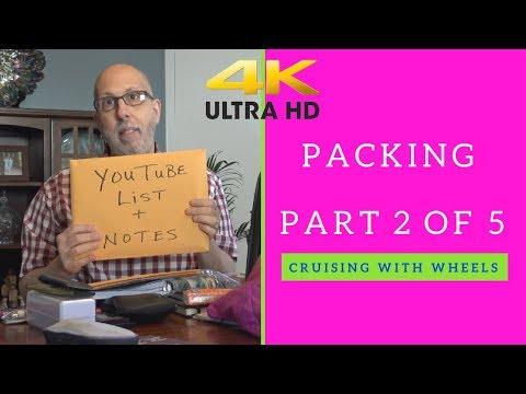 Packing Series Part 2 of 5 Frank's Tote