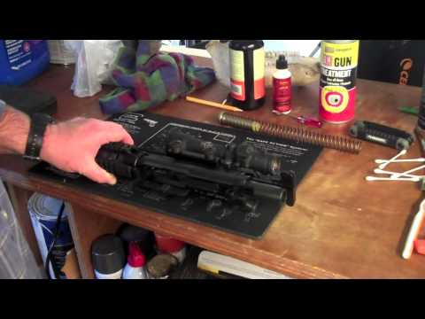 AR-15 Disassembly for Cleaning by BrandoMcWilli