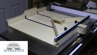 Advantages of a table saw crosscut sled