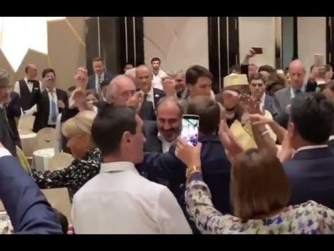 Лидеры Франции, Канады и Монако танцуют в Армении (1)