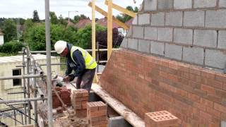 Wonderful Homes - Gable Wall Cut-ups Going Up On 5 New Homes We're Building On Gospel Lane