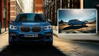 BMW X3 2018 - Interior and exterior | Driving Assistant Plus. (G01)
