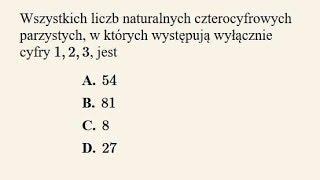 Matura poprawkowa - zadanie 24 - kombinatoryka