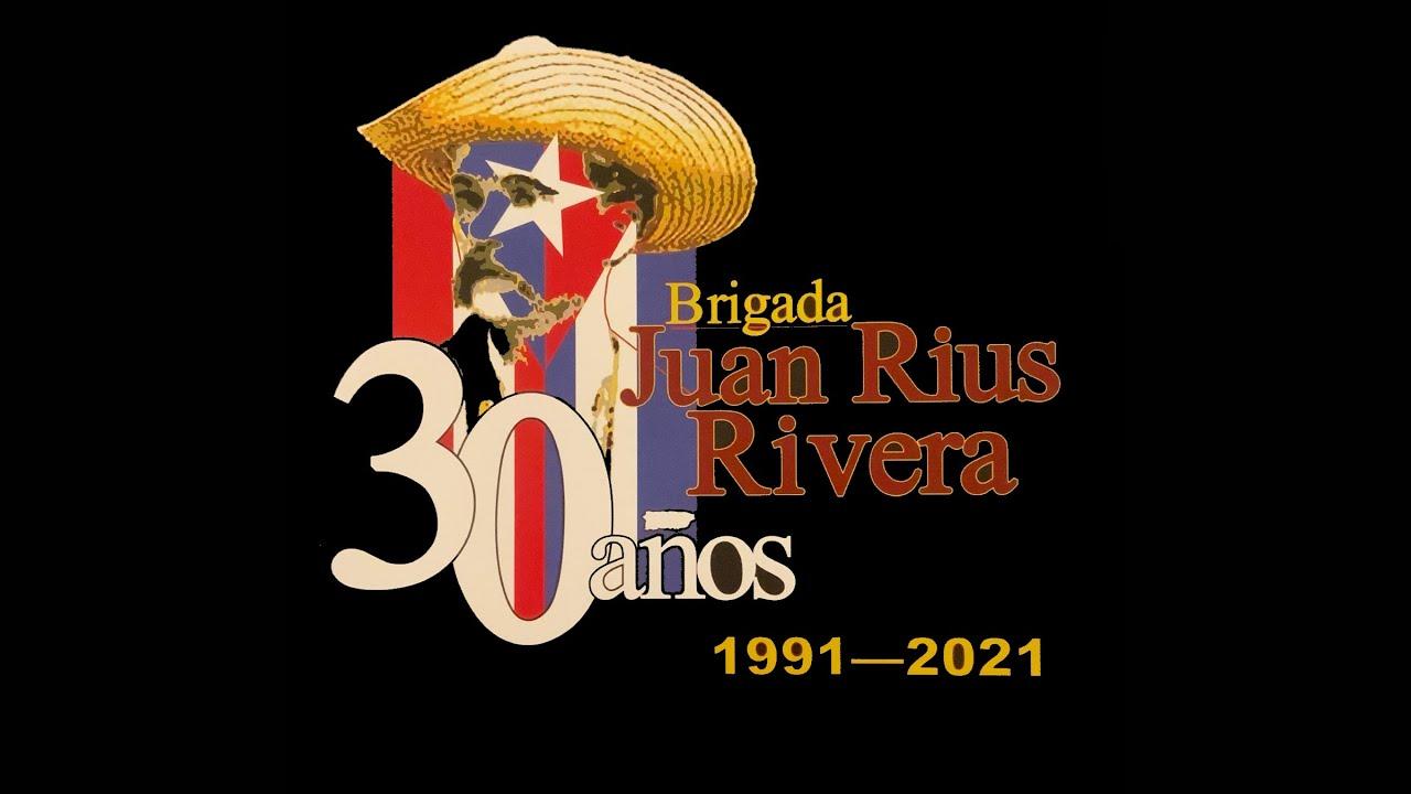 Mensajes de solidaridad desde Cuba para el Abanderamiento de la Brigada XXX Juan Riuz Rivera