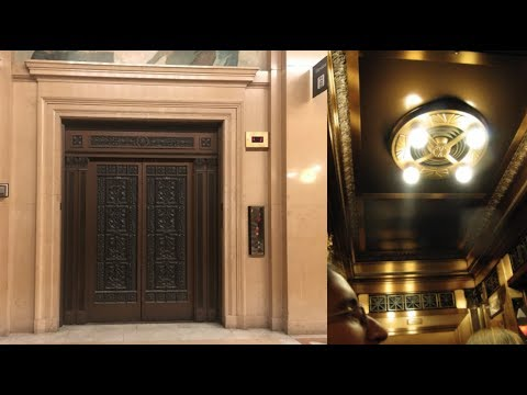 GORGEOUS 1895 Westinghouse elevators - Carnegie Museum of Natural History - Oakland, PA