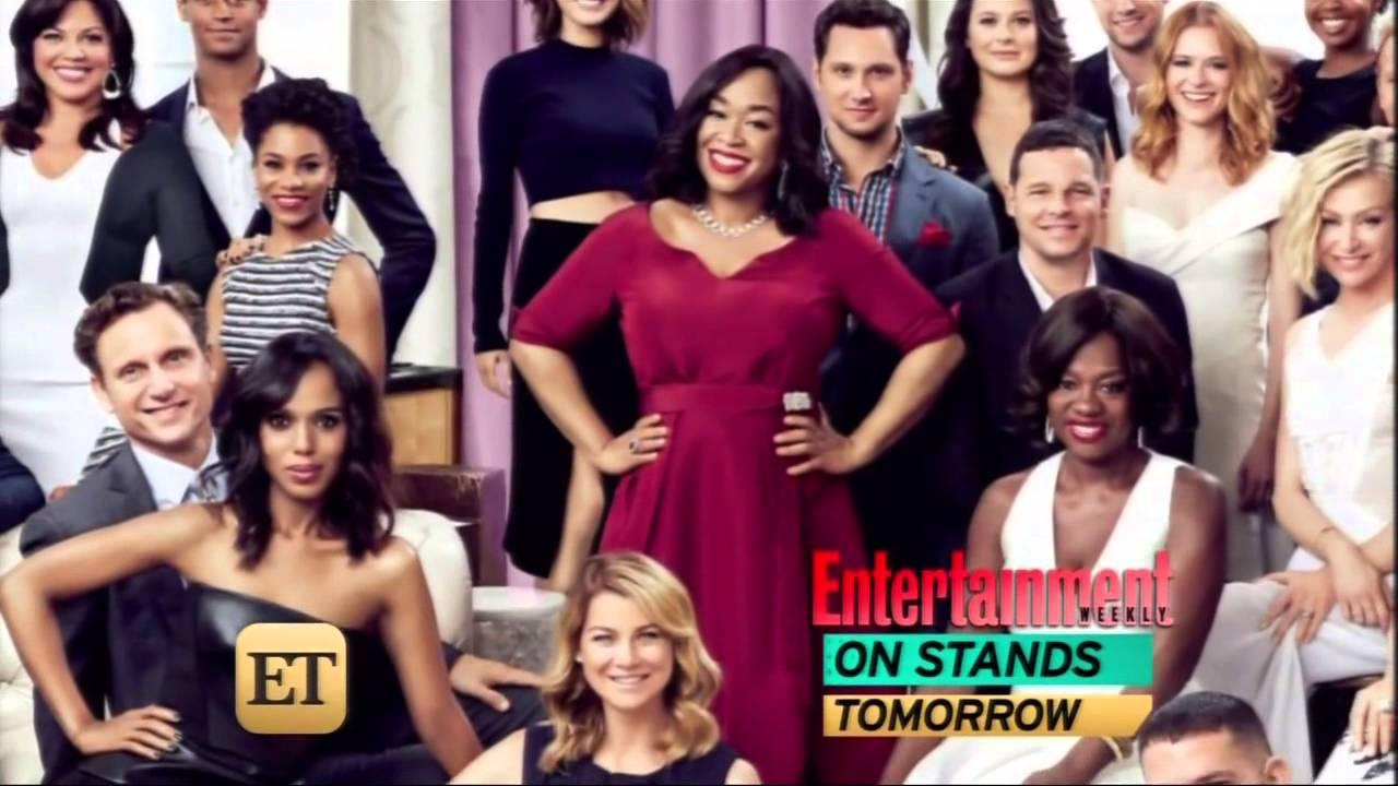 Entertainment Tonight featuring TGIT Scandal, Grey\'s Anatomy, HTGAWM ...