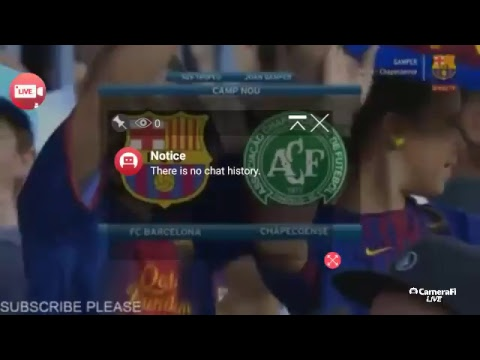 Barcelona Vs Chapecoense - LIVE - Joan Gamper Trophy 2017