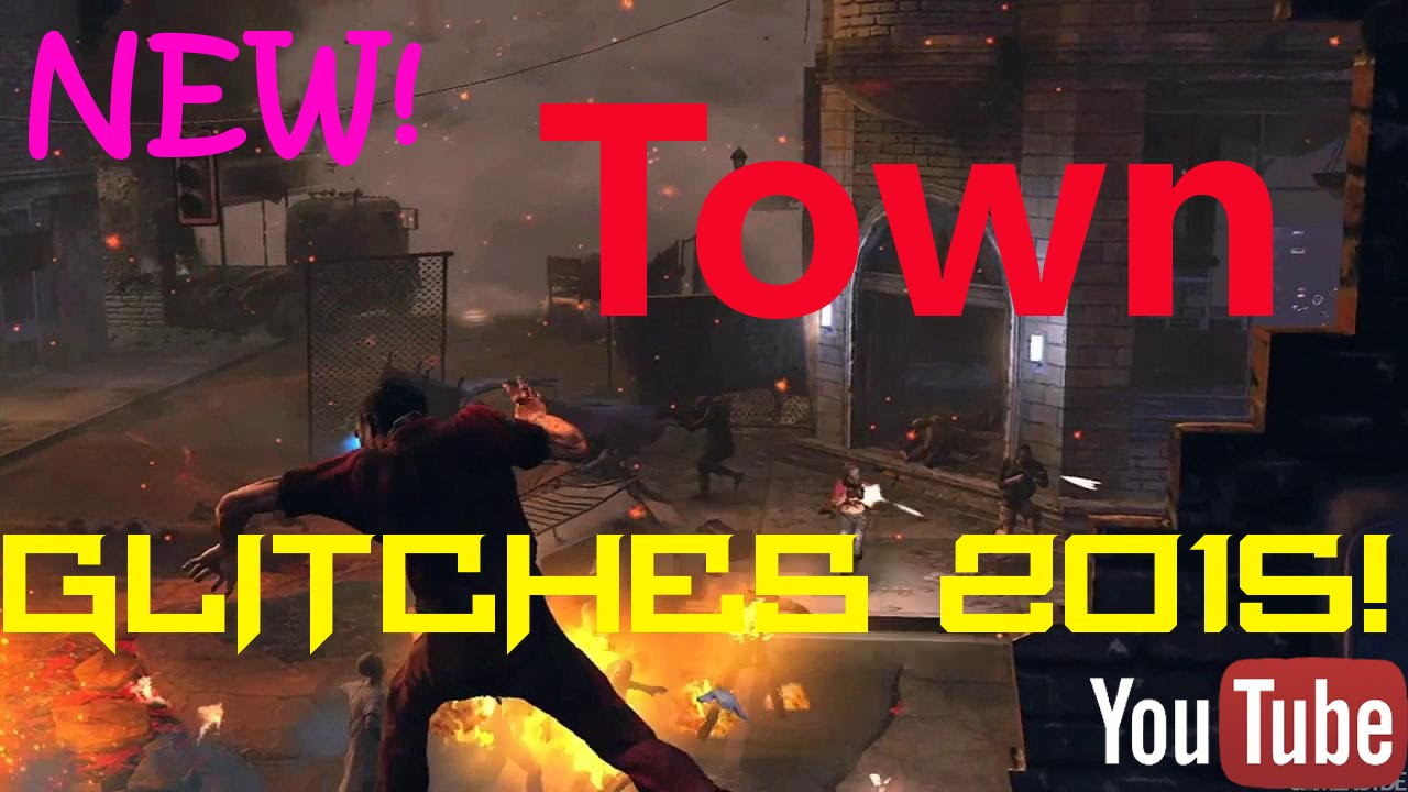 Black Ops 2 Zombies Town Survival Glitches 2015 W Kes Gaminghd