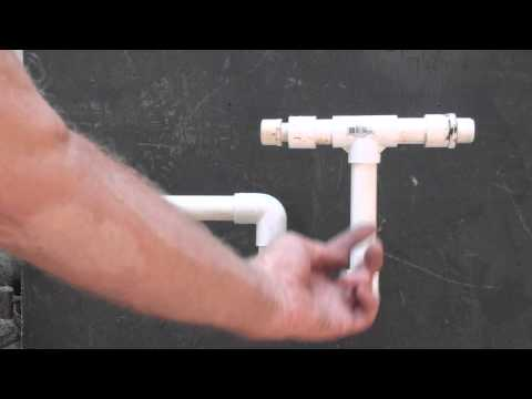 How the air conditioner P-trap works