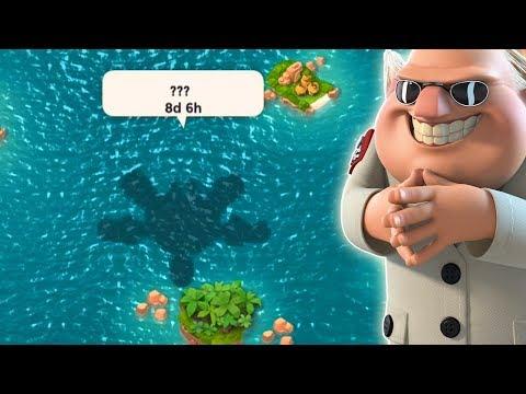 Mega Turtle Shadow is Here!! Boom Beach NEW HERO Strategy!