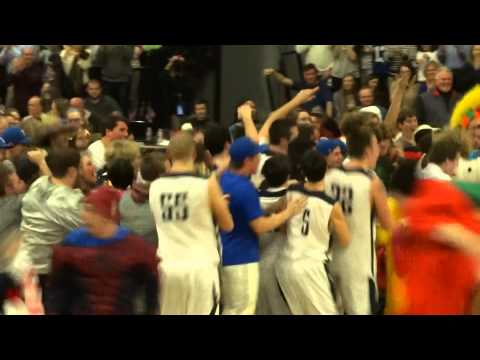 Manasquan fans storm the court in celebration of CJ Group II title