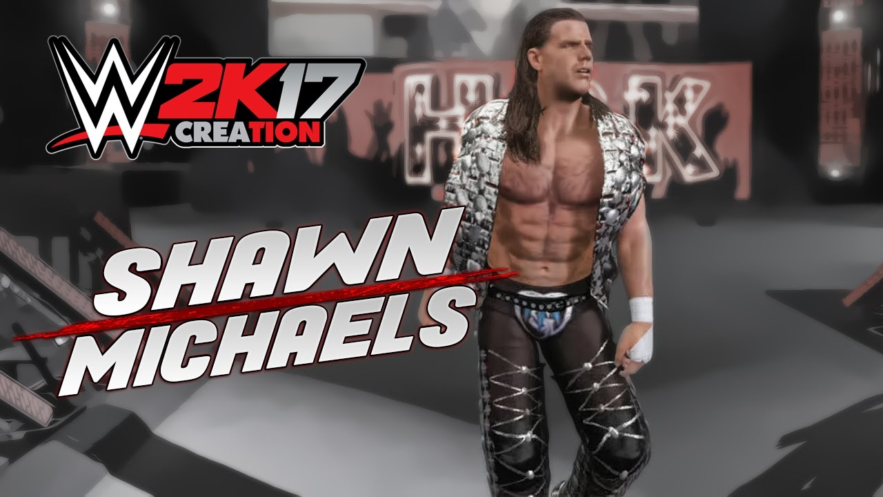 Wwe 2k17 Caw Creation Shawn Michaels Survseri02 Raw After