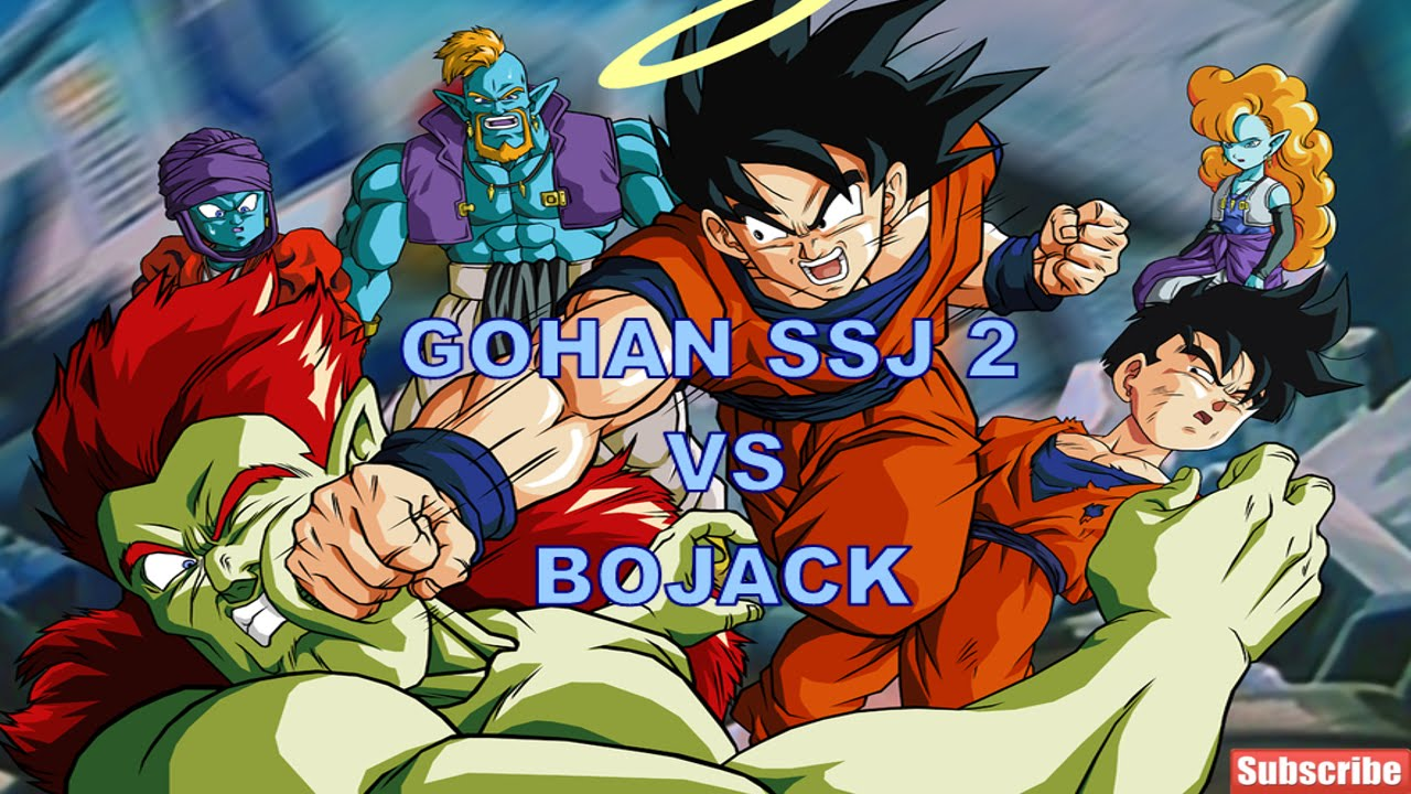 Super Saiyan 2 Gohan Vs Bojack   www.pixshark.com - Images ... Gohan Ssj2 Vs Bojack