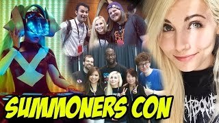"Summoners Con 2015 & ""Worlds Collide"" LIVE! - Travel Vlog"