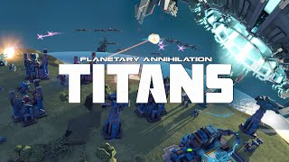 planetary Annihilation Titans 2020 I wish all matches were like this
