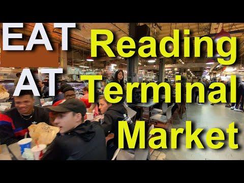 Eating At Reading Terminal Market, Philadelphia