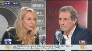 Marion Maréchal Le Pen invitée de Bourdin Direct (27 juin 2016)