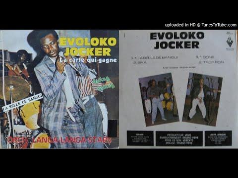 Evoloko Jocker & Langa Langa Stars: La Belle de Bangui Vinyl (1986)