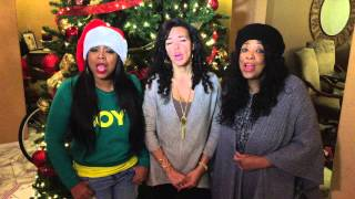 Merry CHRISTmas!! From Shanice Wilson, Shamicka Lawrence, Crystal Wilson Blackmon!!