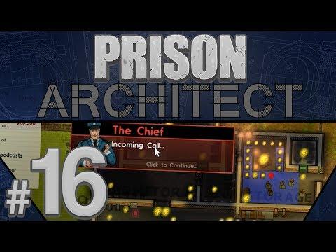 Prison Architect - Building Max-Sec - PART #16