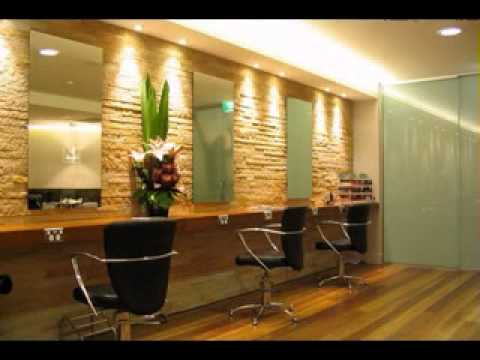Simple beauty salon decor ideas youtube for Salon western