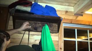 Awesome Tiny House Reclaimed Lumber Coat Rack And Dc Wiring