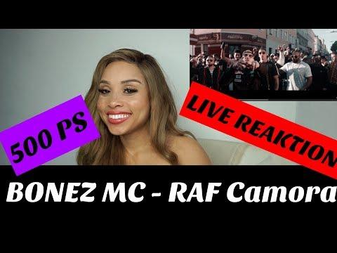 BONEZ MC & RAF Camora - 500 PS (prod. By The Cratez & RAF Camora) Live Reaktion