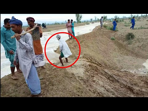 Dangerous Flash Flood & Crazy People In Punjab Pakistan